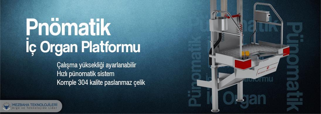 pnömatik iç organ platformu